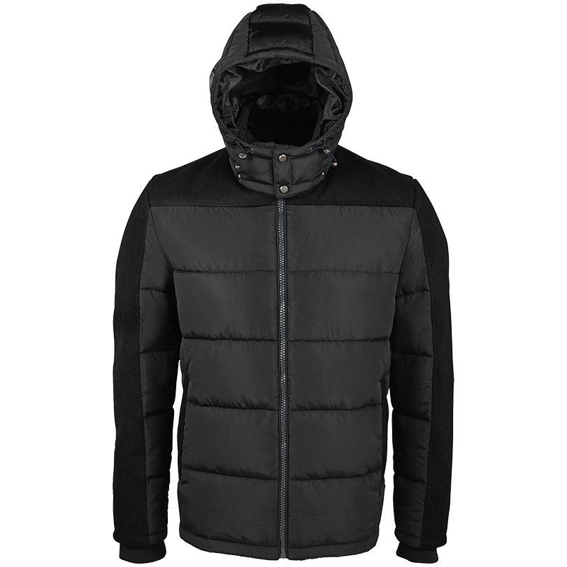 Куртка мужская REGGIE черная, размер XXL