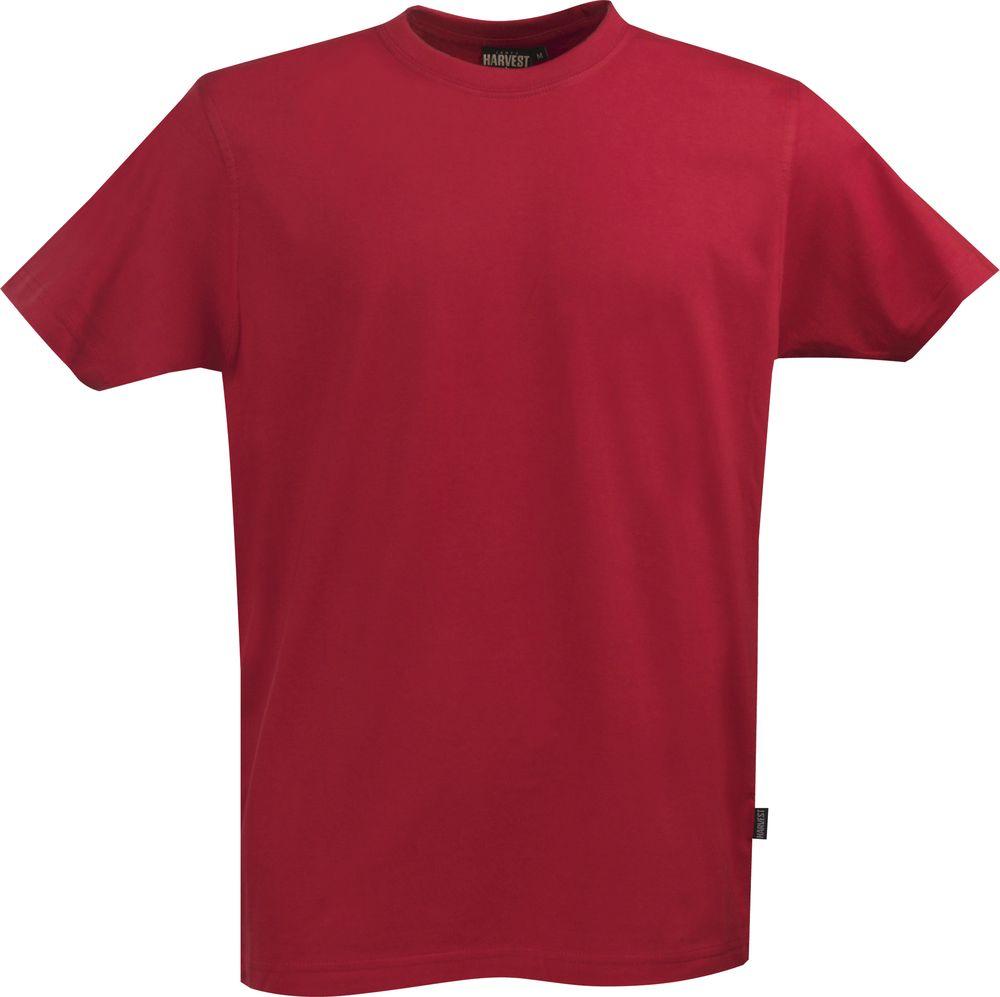 Футболка мужская AMERICAN T, красная, размер XXL футболка мужская diesel цвет белый 00spvz 0caky 100 размер xxl 54