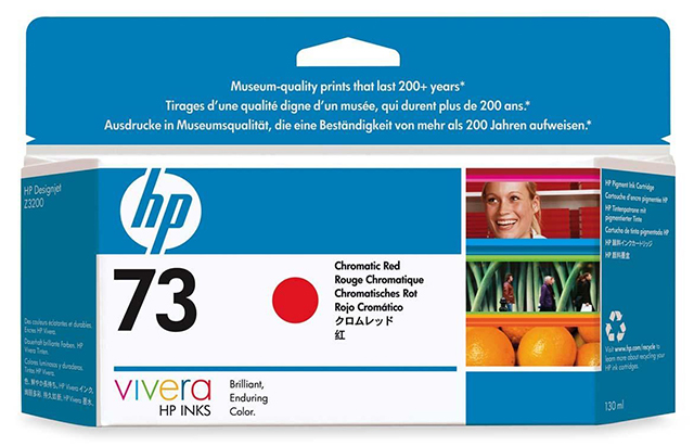 HP Vivera 73 Chromatic Red 130 мл (CD951A) hot sales 80 printhead for hp80 print head hp for designjet 1000 1000plus 1050 1055 printer