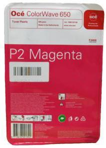 Комплект картриджей ColorWave 650 Magenta 4x500 гр (6874B003) комплект картриджей colorwave 650 yellow 4x500 гр 6874b001