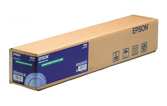 Epson Doubleweight Matte Paper 64 180 г/м2, 1.626x25 м, 50.8 мм (C13S042138) epson ds transfer multi purpose 64 105 г м2 1 620x91 4 м 50 8 мм c13s045452