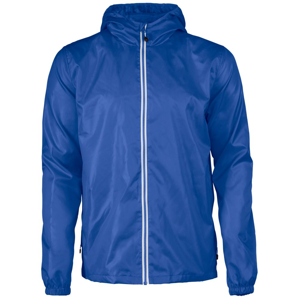 Ветровка мужская FASTPLANT синяя, размер S ветровка мужская helly hansen crew hooded jacket цвет синий 33875 597 размер s 46