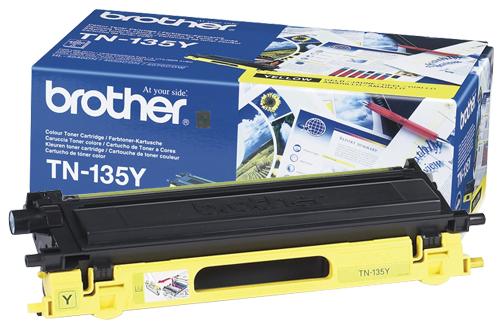 Тонер-картридж TN-135Y тонер картридж tn 320y