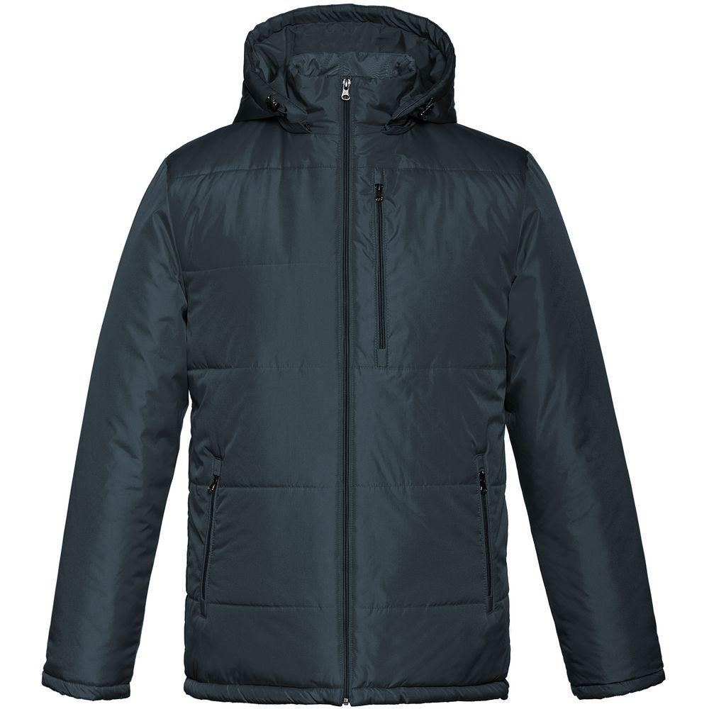 Фото - Куртка Unit Tulun, темно-синяя, размер S куртка unit tulun серая размер xxl