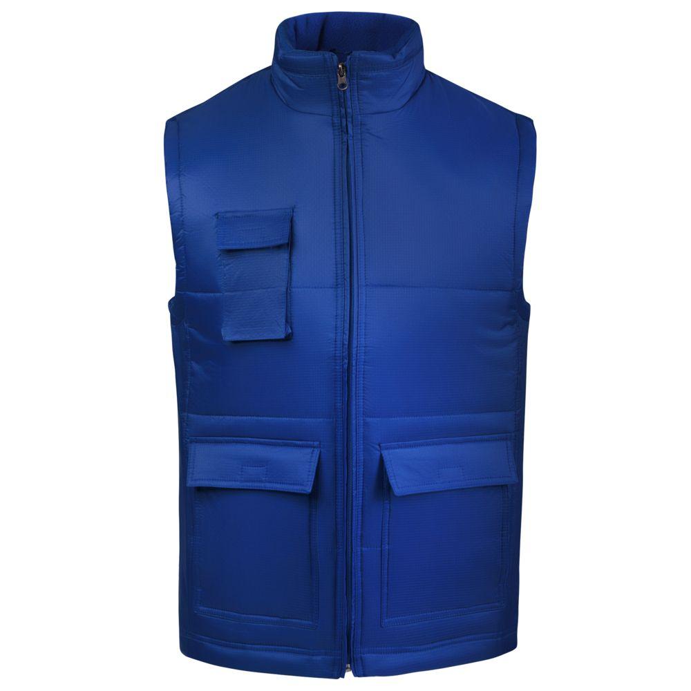 Жилет WORKER ярко-синий, размер M майка morera 35480m purple m синий 44 46 размер