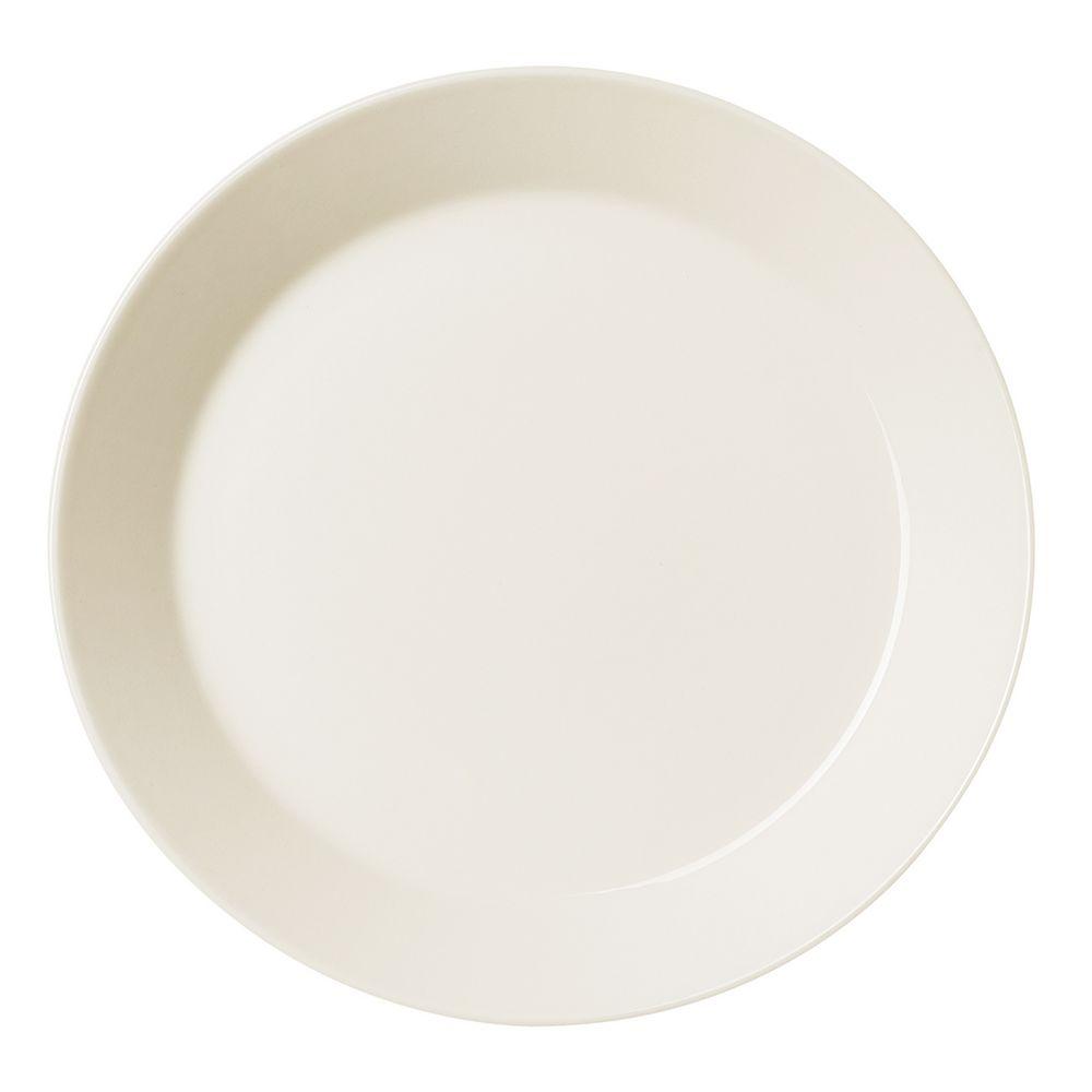 Тарелка Teema, средняя, белая чашка кофейная teema белая