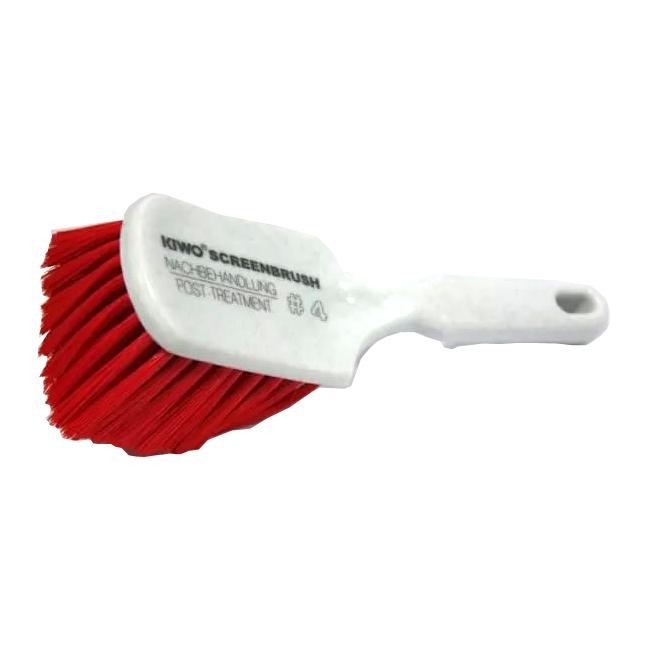 Фото - Щетка для нанесения очистных паст на трафаретные формы KIWO ScreenBrush №4, красная линза для моб телефона красная dunk