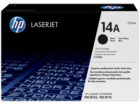 Тонер-картридж HP 14A CF214A