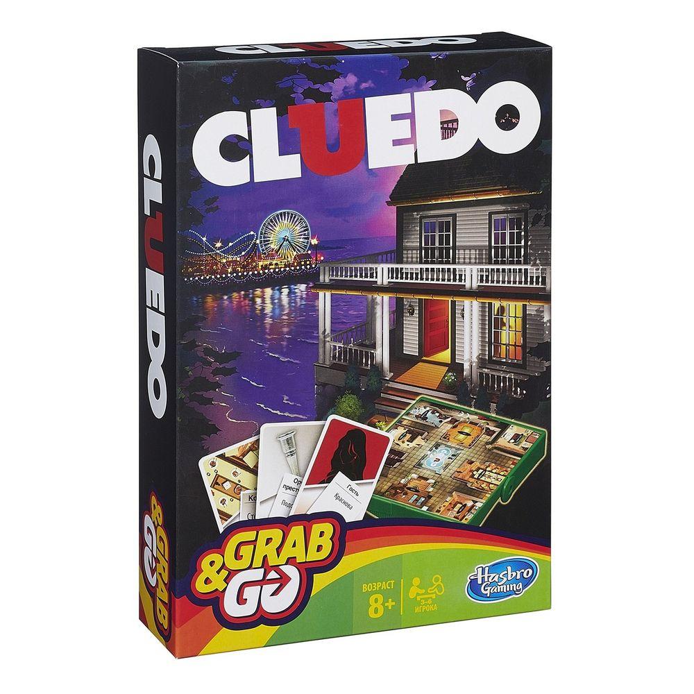 Игра настольная Cluedo, дорожная версия