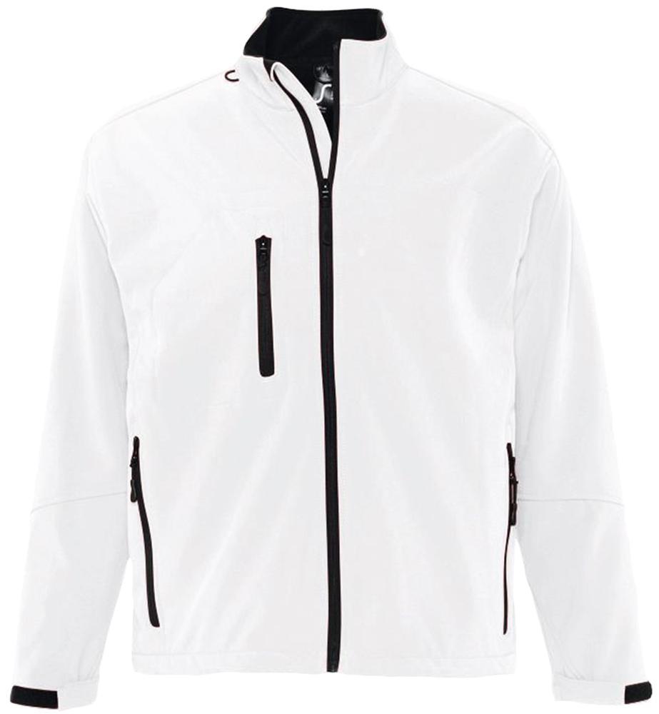 Куртка мужская на молнии RELAX 340 белая, размер XL куртка мужская на молнии relax 340 белая размер xl