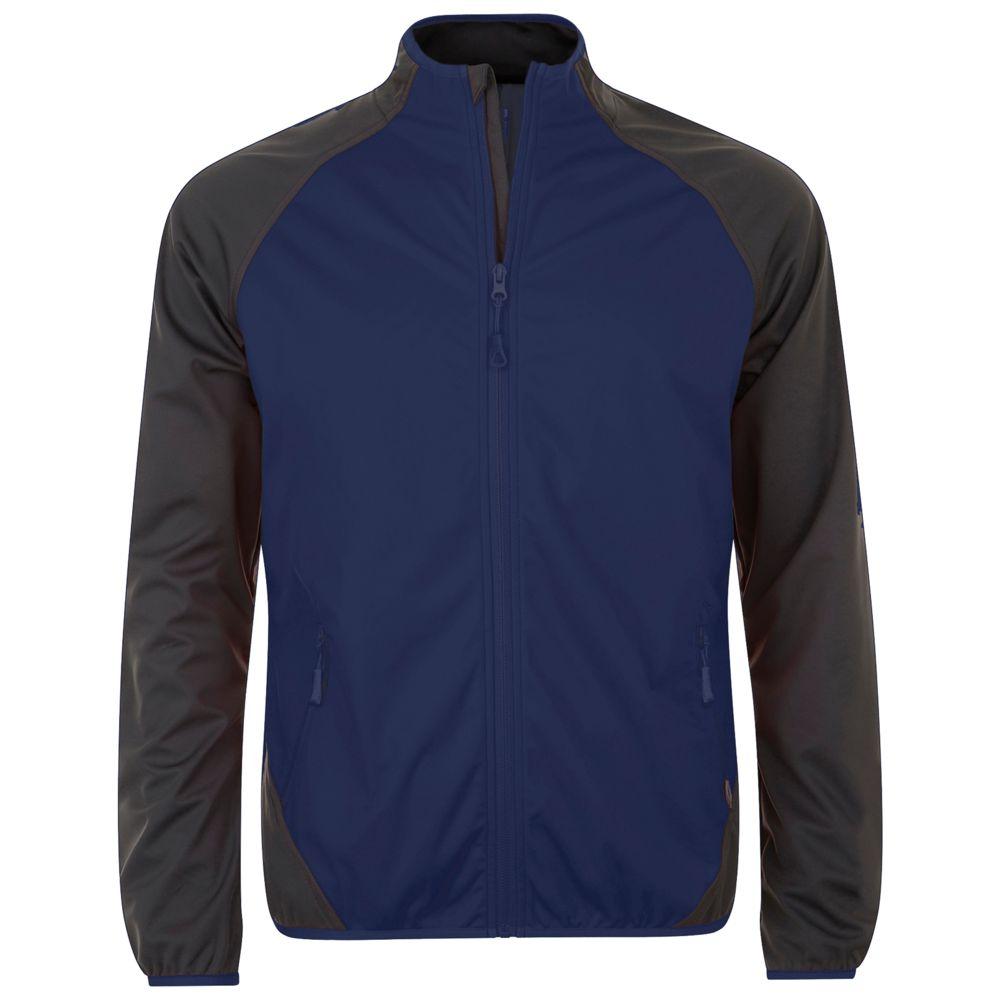Куртка софтшелл мужская ROLLINGS MEN темно-синий/серый, размер 3XL парка superdry темно синий 44 размер