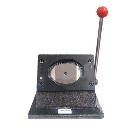 Вырубщик для значков , 69х45мм (настольный) цена и фото