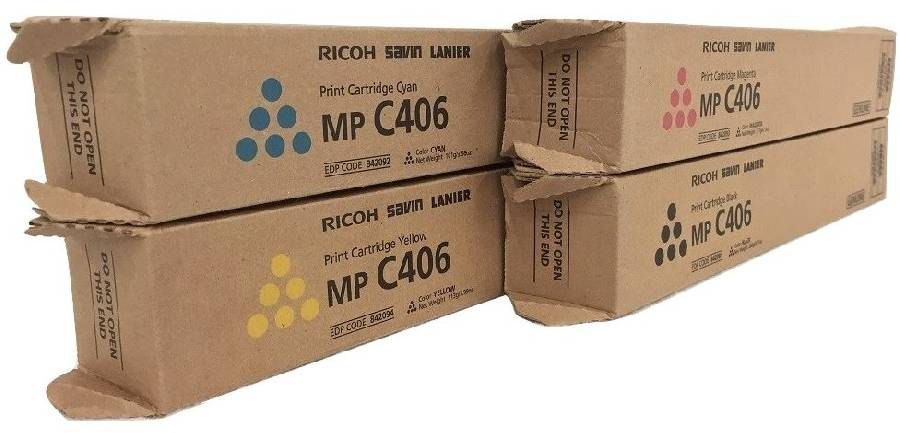Принт-картридж MP C406 (842096) принт картридж mp c400e голубой