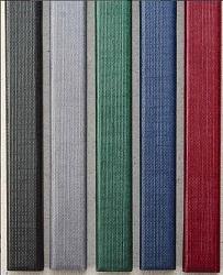Фото - Цветные каналы с покрытием «Ткань» O.CHANNEL А5 217 мм 32 мм черные открытка а5 моему другу 5 14 0210