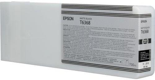 Фото - Epson T6368 Matte Black 700 мл (C13T636800) картридж струйный epson c13t596500 cyan для i c sp 7900 9900 350ml