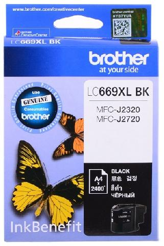 Фото - Картридж Brother LC669XLBK картридж brother lc980c