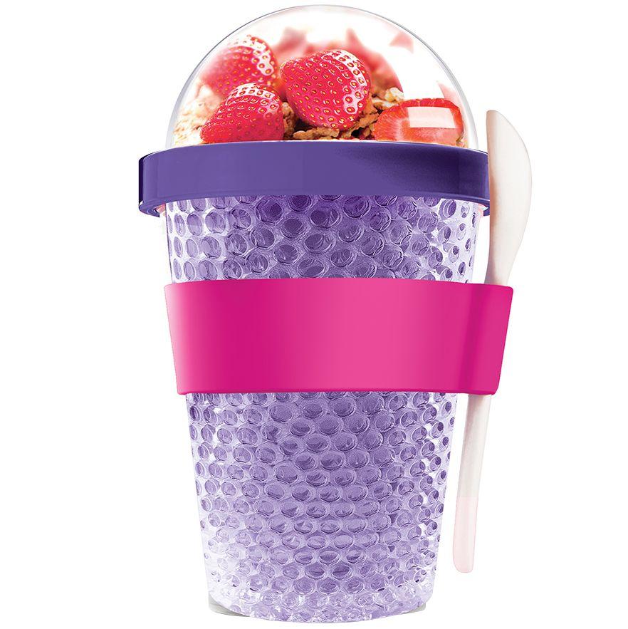 Охлаждающий контейнер Chill Yo 2 Go, фиолетовый the chill
