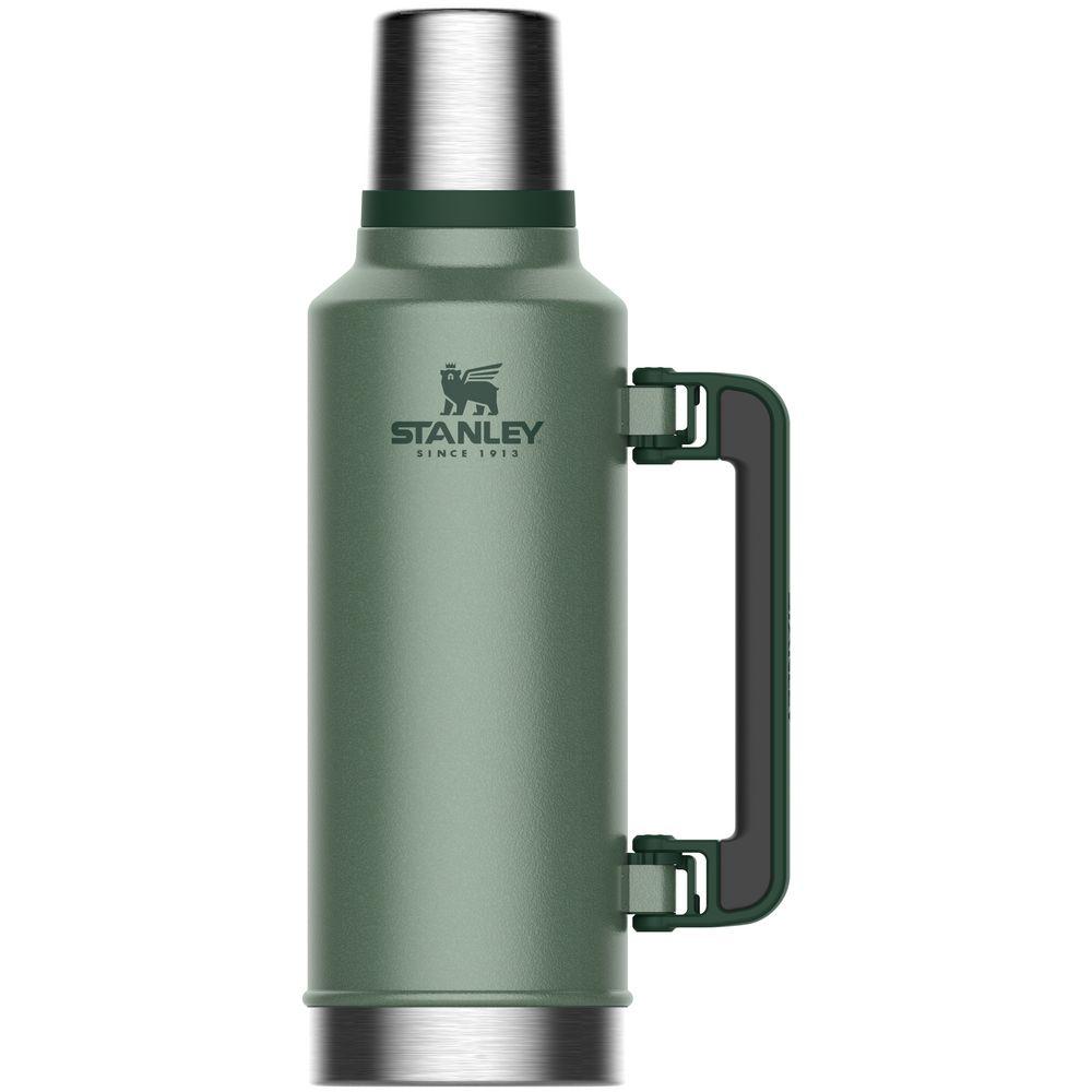 Термос Stanley Classic 1,9 л, темно-зеленый термос 0 5 л 7 15х24 35 см оранжевый zk142 or zoku