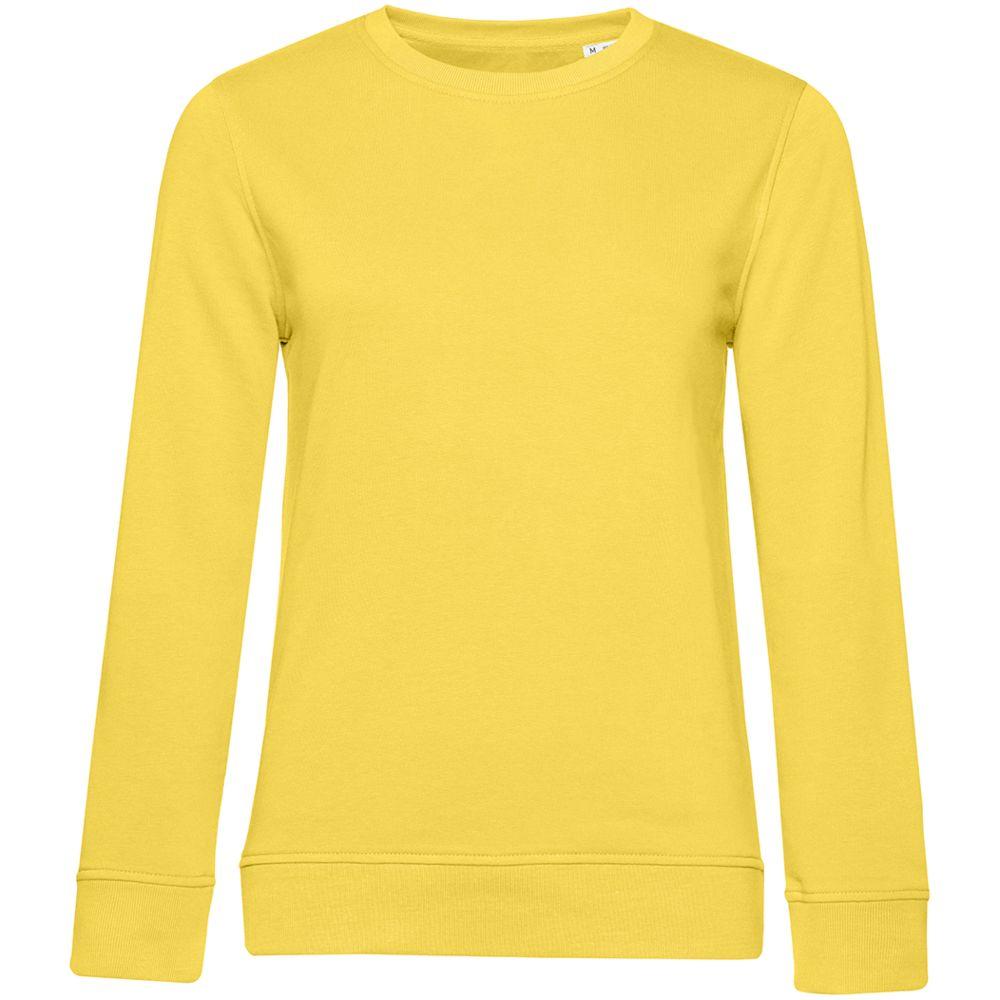 Свитшот женский BNC Organic, желтый, размер S