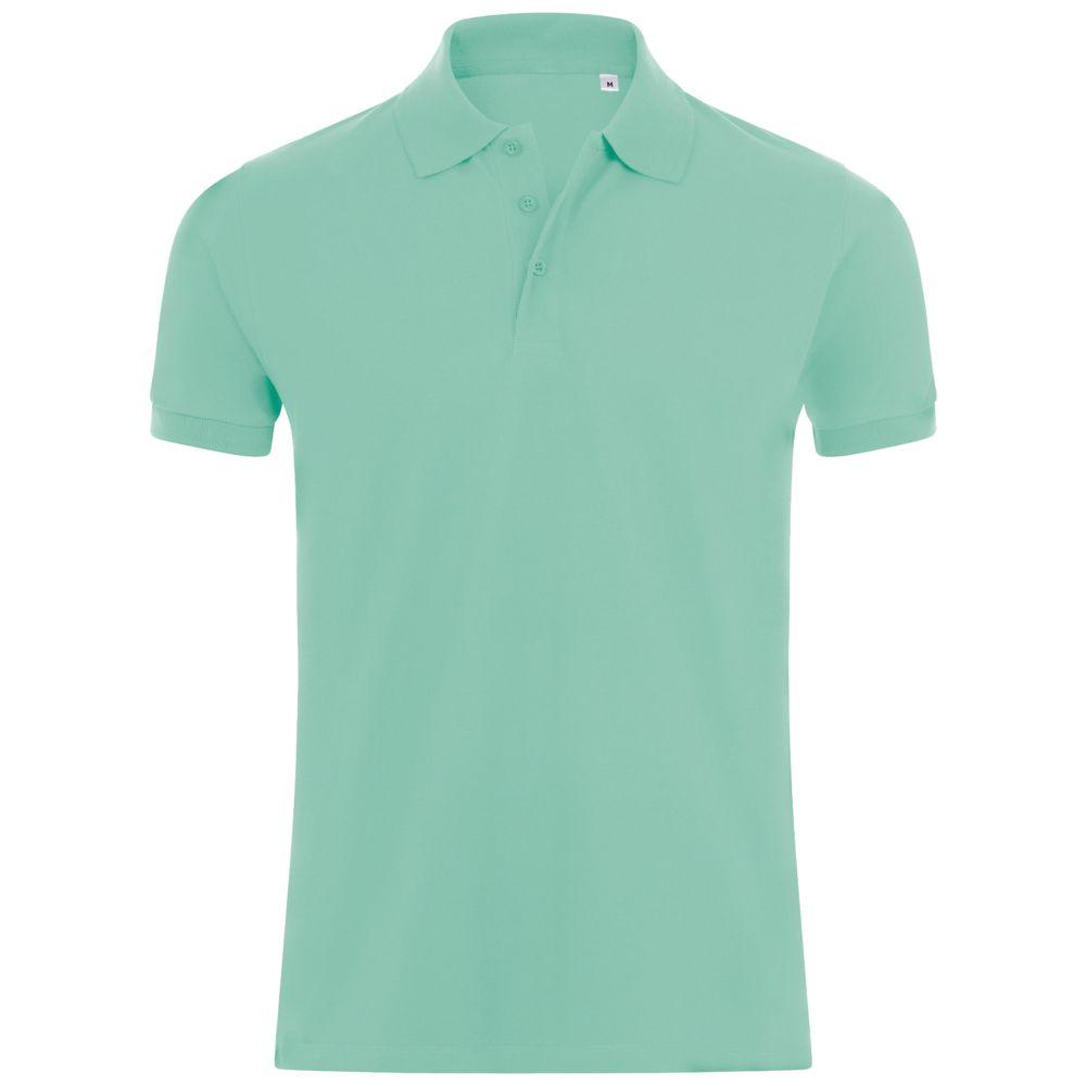 Рубашка поло мужская PHOENIX MEN зеленая мята, размер S