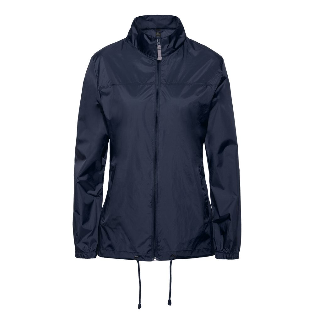 Ветровка женская Sirocco темно-синяя, размер XS блузка женская adl цвет темно синий 13026559014 118 размер xs 40 42