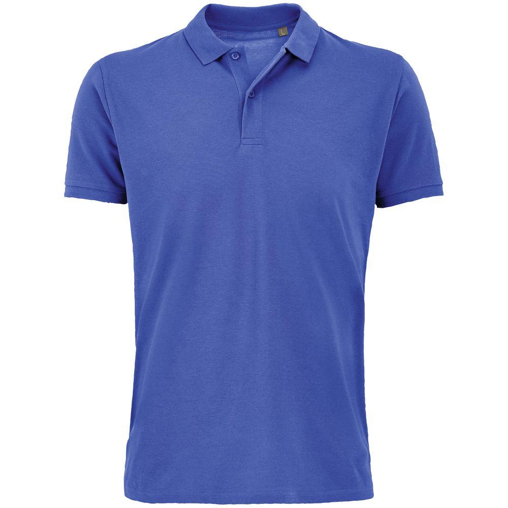 Рубашка поло мужская Planet Men, ярко-синяя, размер L