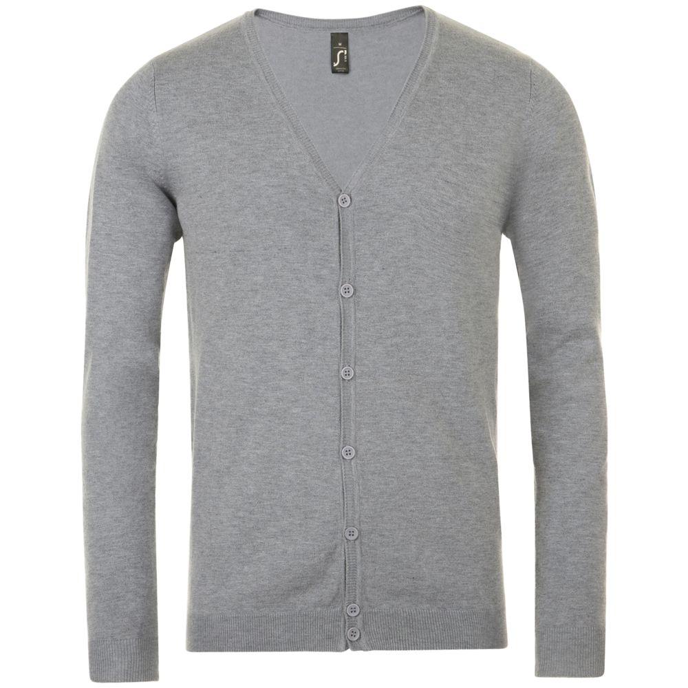 Кардиган мужской GRIFFITH серый меланж, размер 3XL кардиган мужской griffith серый меланж размер xxl