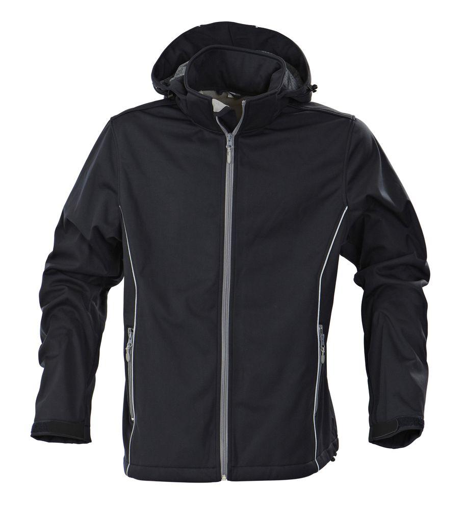 Куртка софтшелл мужская SKYRUNNING, темно-синяя, размер M фото