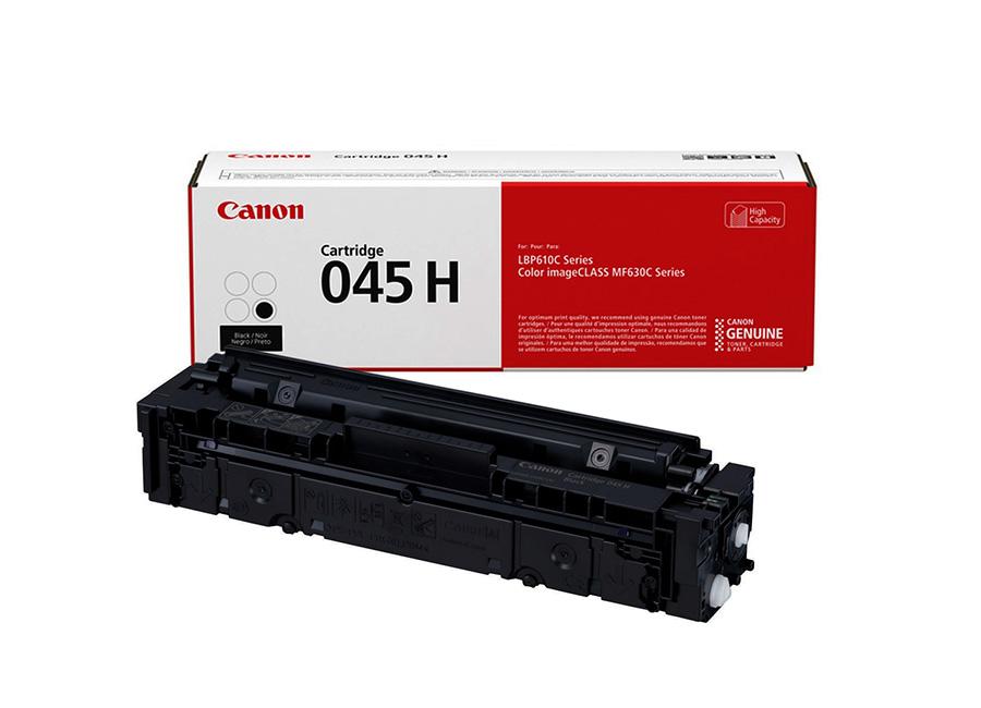 Тонер-картридж повышенной емкости Canon 045H Bk (1246C002) фото
