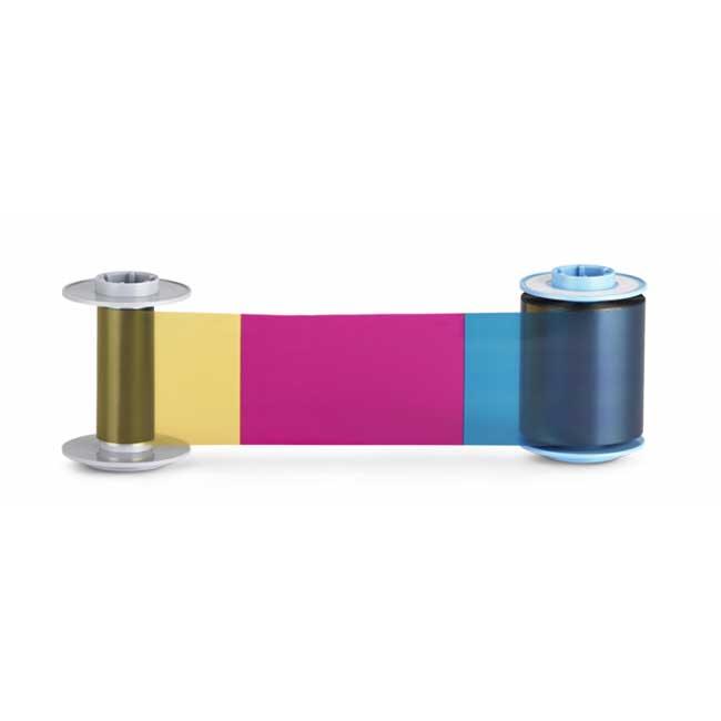 Фото - Prima834 Полноцветная лента с UV панелью для принтеров Prima 8 лента ламинационная с голограммой uv защитой и вырезом под магнитную полосу duragard optigram 1 0 mil datacard certified supplies datacard 508913 401