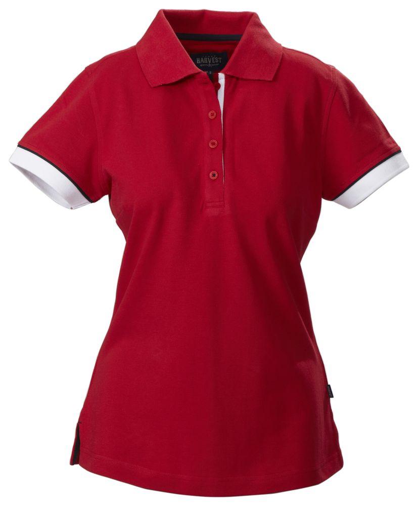 Рубашка поло женская ANTREVILLE, красная, размер M рубашка женская top secret цвет зеленый ske0040zi размер 34 42