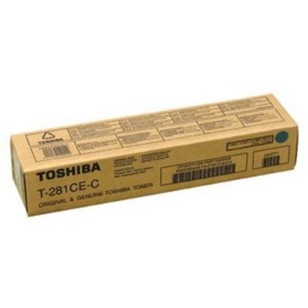 Фото - Тонер Toshiba T-281C-EC тонер toshiba t 1600e
