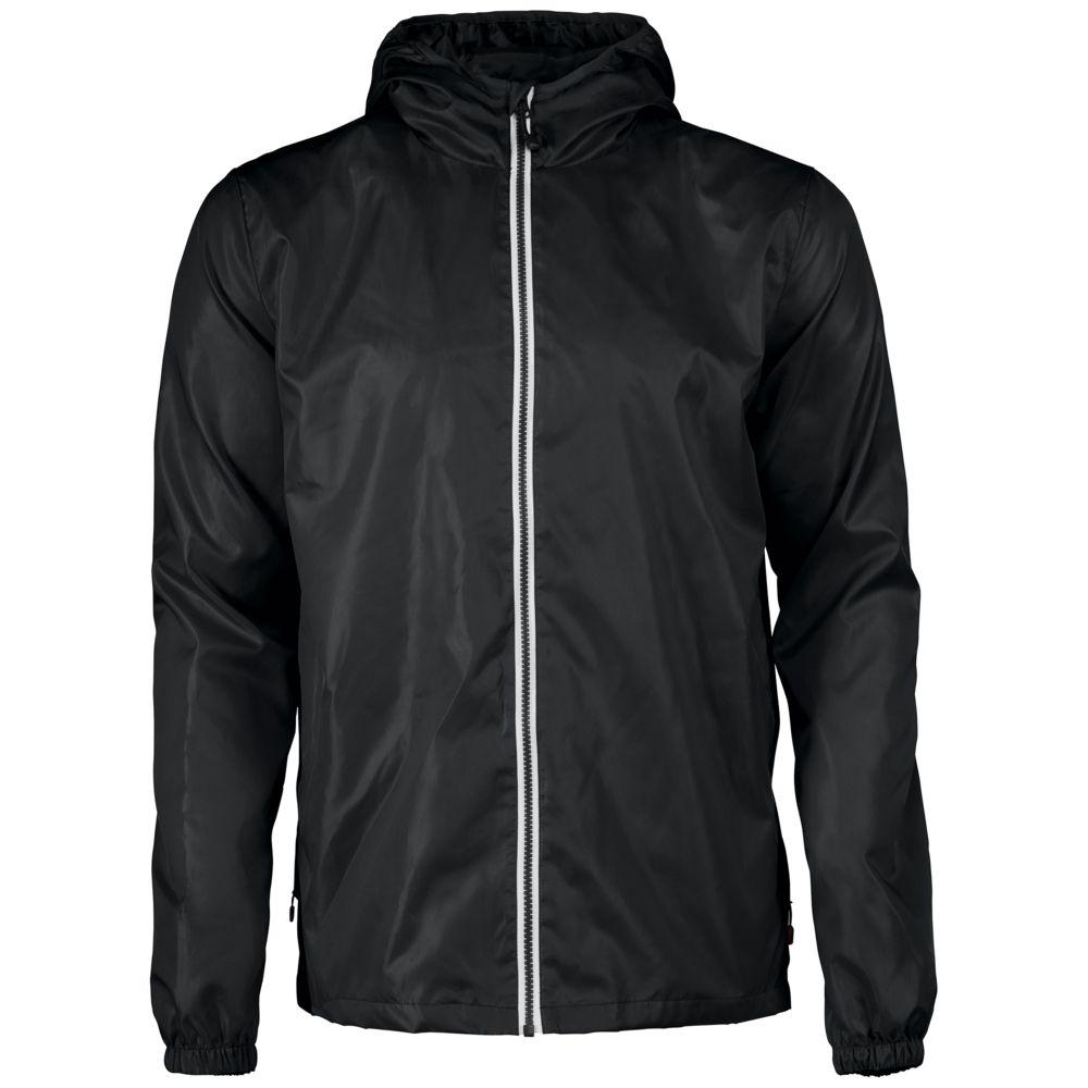 Ветровка мужская FASTPLANT черная, размер S ветровка мужская helly hansen crew hooded jacket цвет синий 33875 597 размер s 46