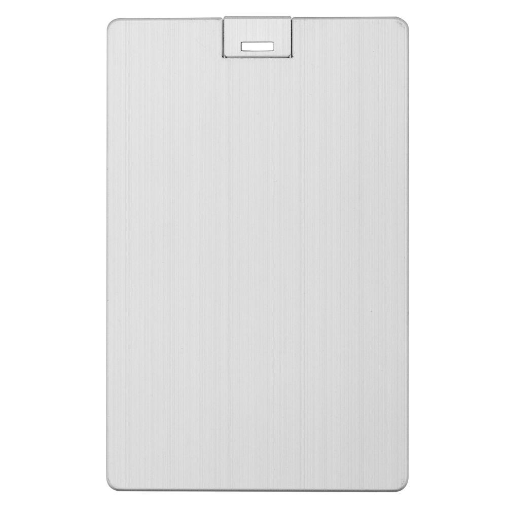 Флешка Platinum Card, 8 Гб, серебристая недорого