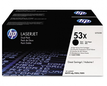 Тонер-картридж HP Q7553XD hp hp q7553xd black