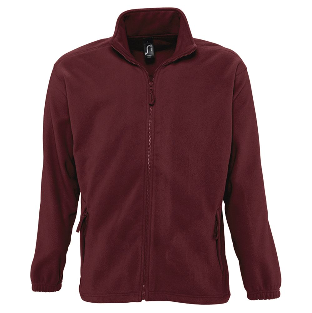 Куртка мужская North 300, бордовая, размер 5XL