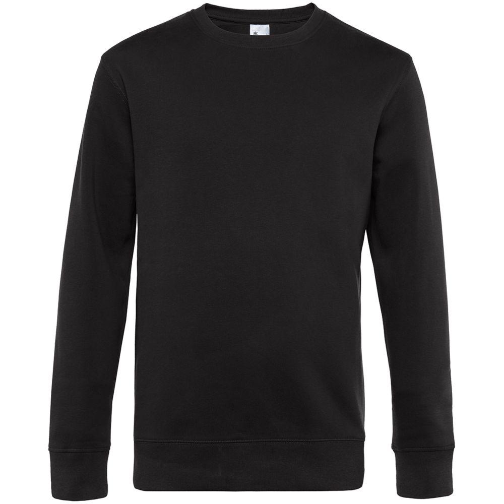 Фото - Свитшот унисекс King, черный, размер 4XL халат vistyle размер 4xl черный белый