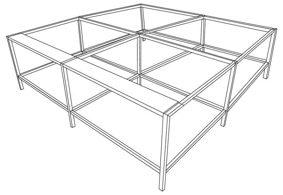 Фото - Малое расширение для стола Evolution Bench 290 набор стаканов для виски crystalite bohemia ideal 290 мл 6 предметов с узором