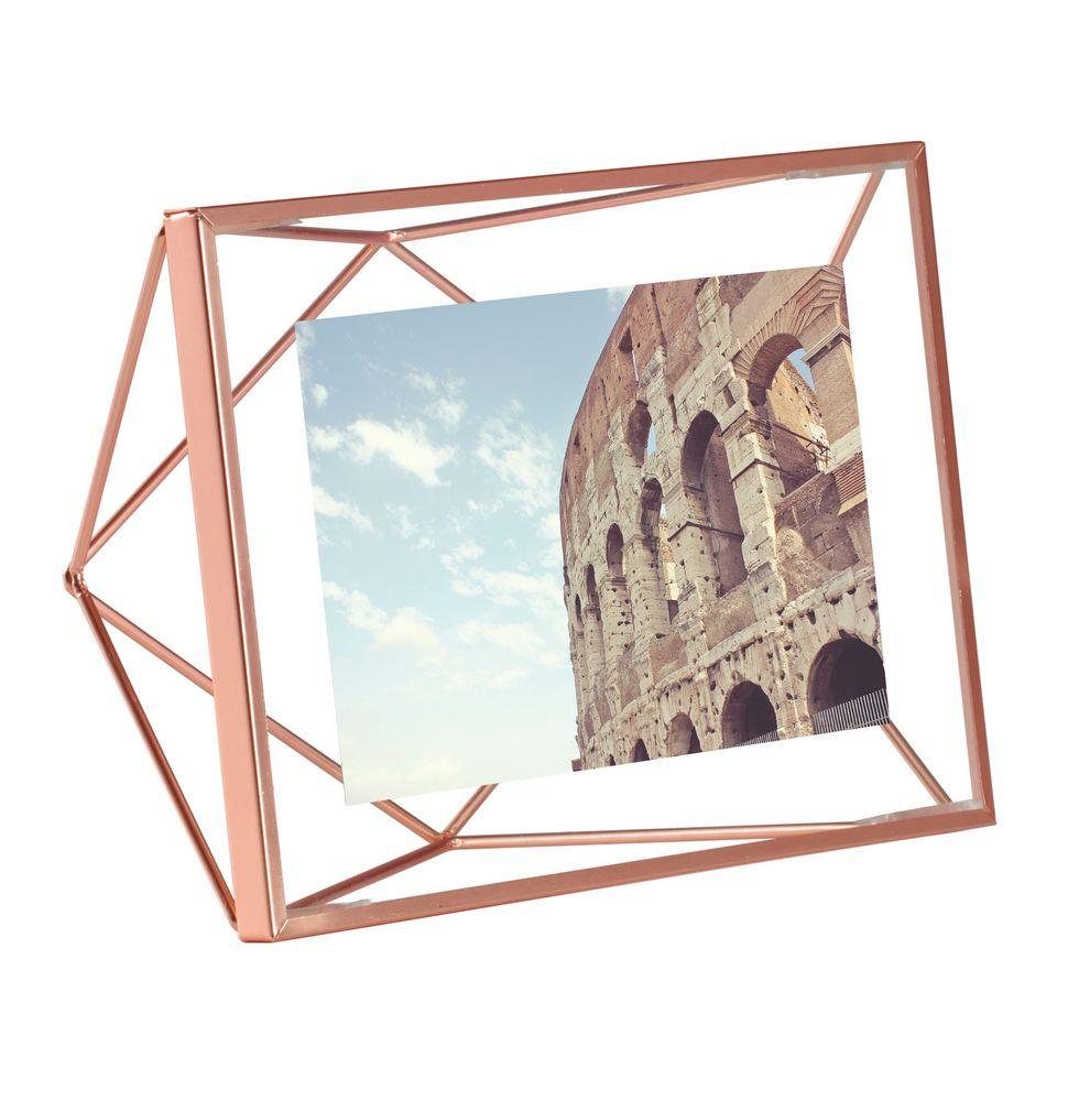 Фоторамка Prisma, малая, медь декор для стен prisma медь