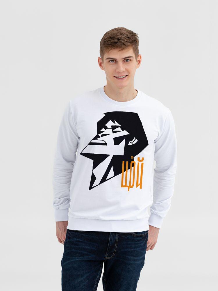 Свитшот «Меламед. Виктор Цой», белый, размер XL