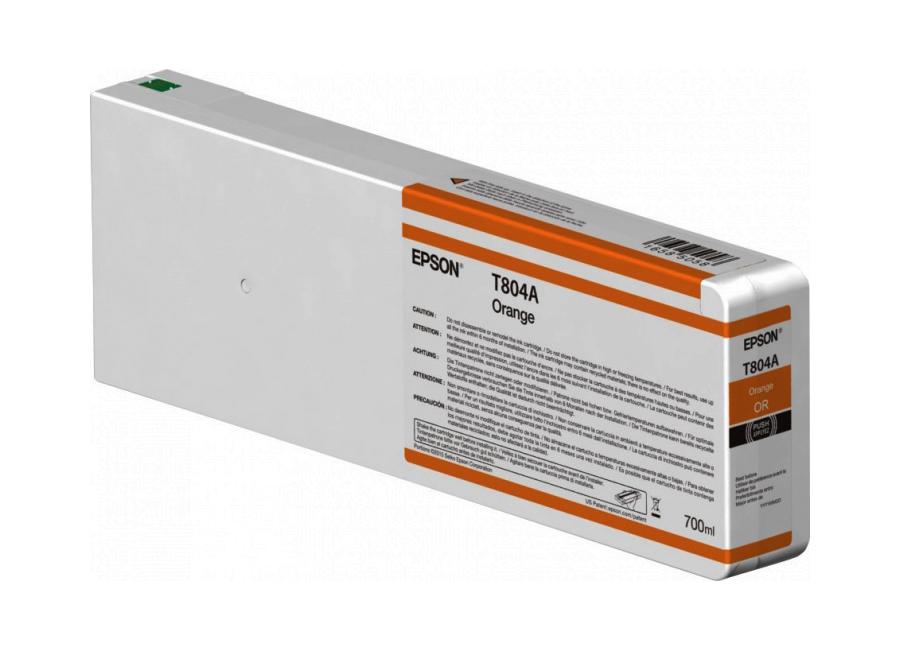 T804A Orange 700 мл (C13T804A00) принтер epson surecolor sc p9000 std c11ce40301a0