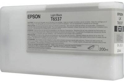 Фото - Epson T6537 Light Black 200 мл (C13T653700) l 02z multi functional 5mw 650nm red laser pointer w led white light black ink stylus pen blue