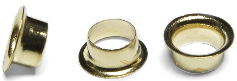 Фото - Люверсы / Колечки Piccolo (золото), 6 мм, 1000 шт стяжка липучка 6 шт black