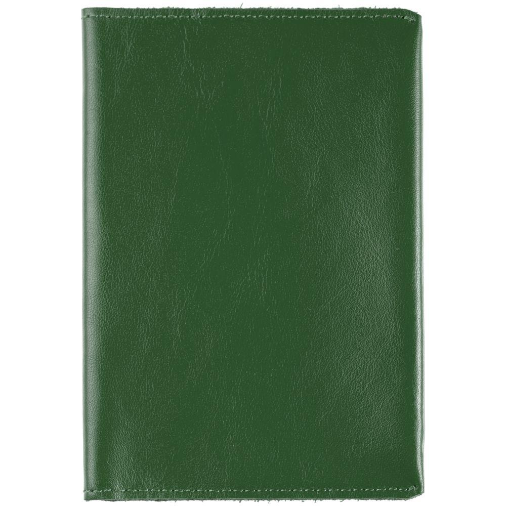 Обложка для паспорта Apache, зеленая