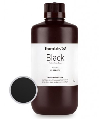 цена на Фотополимерная смола Formlabs черная