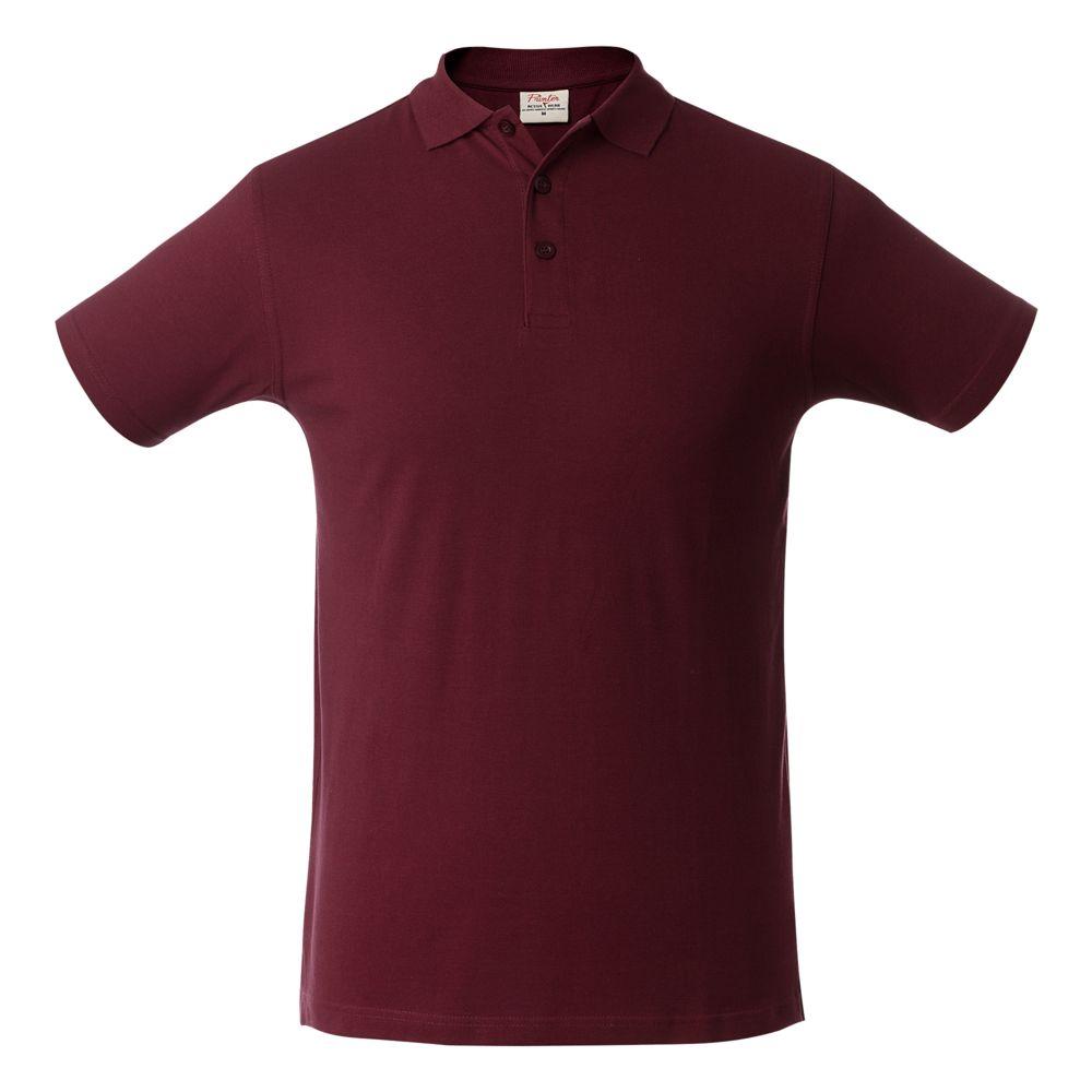 Рубашка поло мужская SURF бордовая, размер XXL