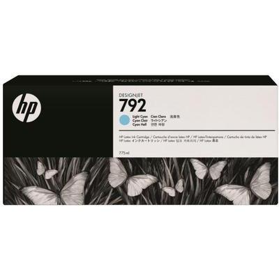 Картридж HP №792 Latex Light Cyan (CN709A) картридж струйный hp c9391ae n 88xl cyan with vivera ink
