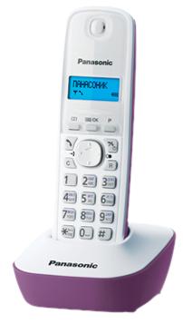 Фото - KX-TG1611RUW проводной и dect телефон foreign products vtech ds6671 3