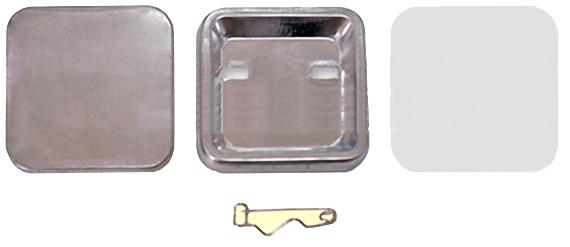 Заготовки для значков 37х37 мм, булавка,100 шт заготовки для значков 69х45 мм булавка 100 шт