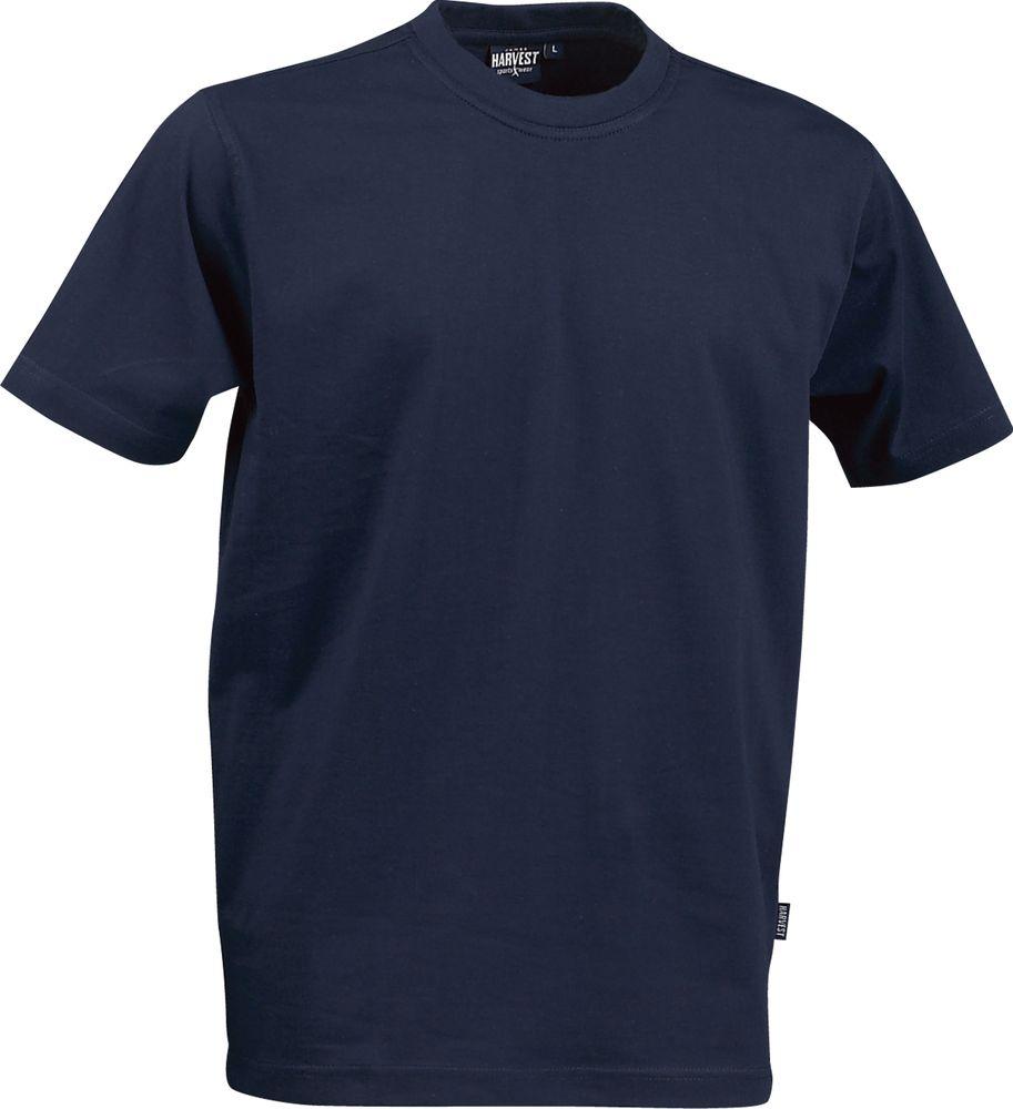 Футболка мужская AMERICAN T, темно-синяя, размер S